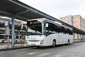 Nové autobusy Iveco Crossway Line pro linku Zlín - Brno. Foto: Arriva Morava