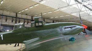 Letadlo Avia CB-33 (Il-10) po rekonstrukci. Foto: VHÚ