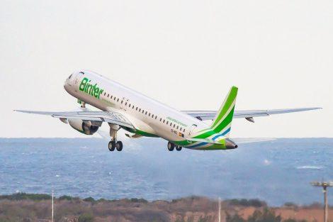 Embraer E195-E2 v barvách Binter Canarias. Foto: Binter Canarias