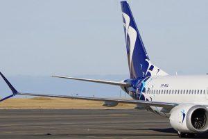 Boeing 737 MAX 8 pro Blue Air. Foto: Blue Air