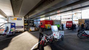Depo nákladních kol na Florenci. Pramen: IPR Praha