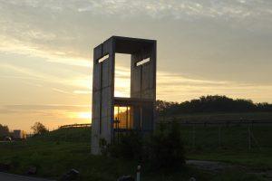Jediná dálniční kaple v tuzemsku je na D5. Foto: Tomáš Holub