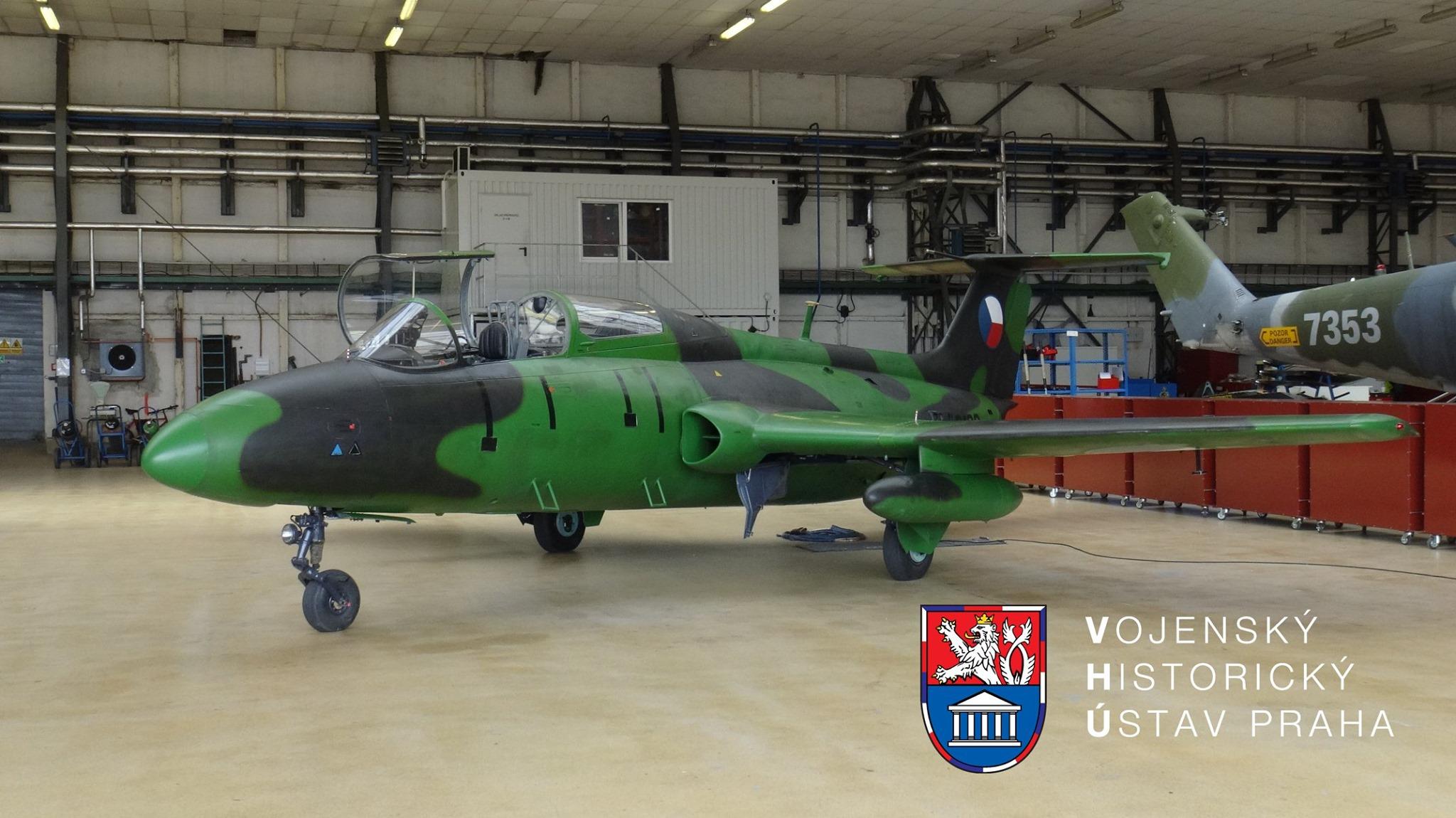 Cvičný letoun Aero L-29 Delfín. Foto: VHÚ