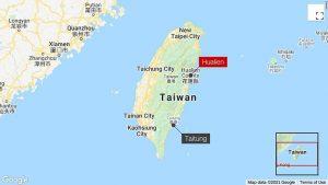 K nehodě došlo ve východní části ostrova. Foto: Google Maps