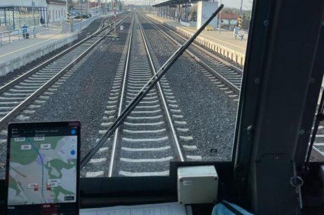 Nová aplikace pro strojvedoucí, která je upozorňuje na změny na trati. Foto: ČD Cargo