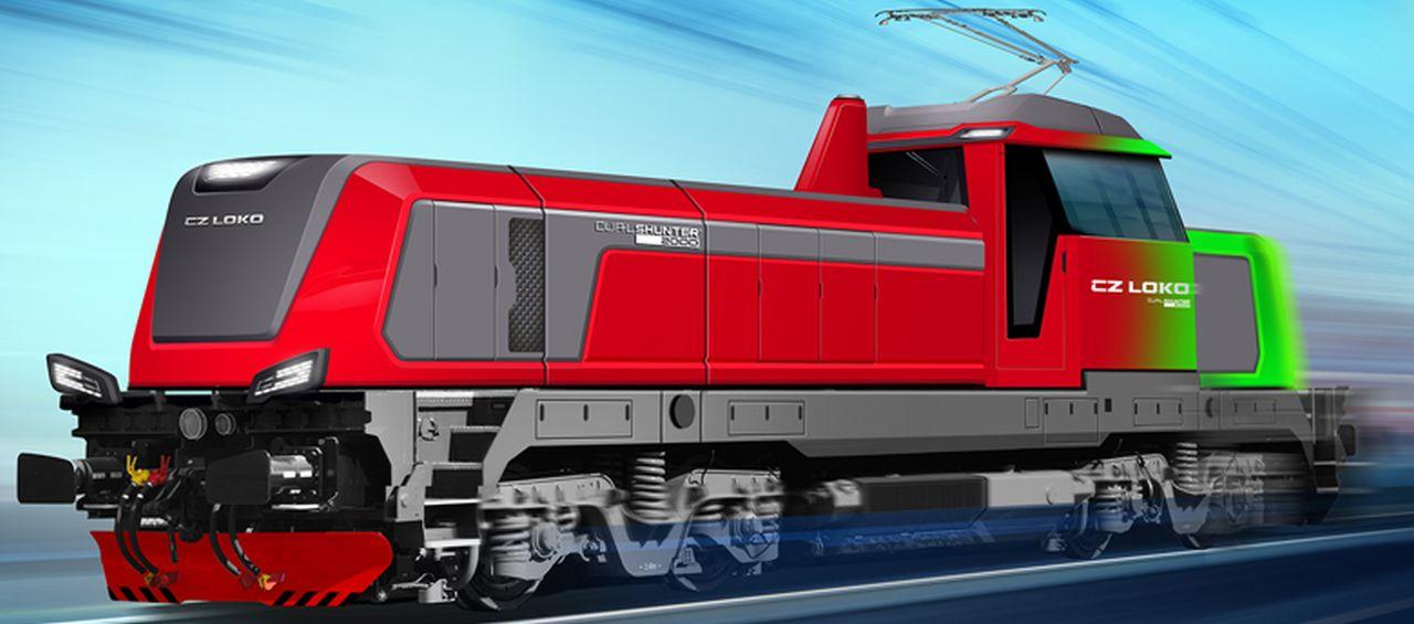 Nová duální lokomotiva DualShunter 2000. Foto: CZ LOKO
