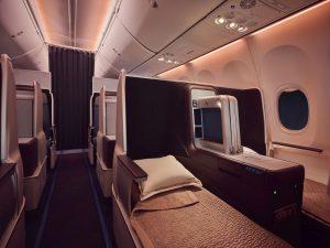 Interiér Boeingu 737 MAX  společnosti flydubai. Foto: flydubai