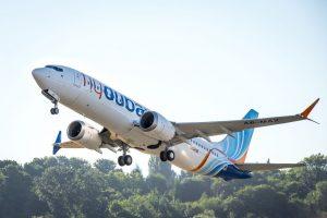 Boeing 737 MAX 8 společnosti flydubai. Foto: flydubai