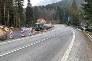 Silnice I/10 u křižovatky Mýto. Foto: ŘSD