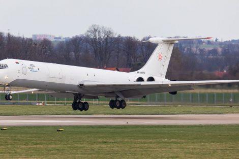 Iljusin Il-62 v Ostravě. Foto: Radim Koblížka / LKMT Spotters