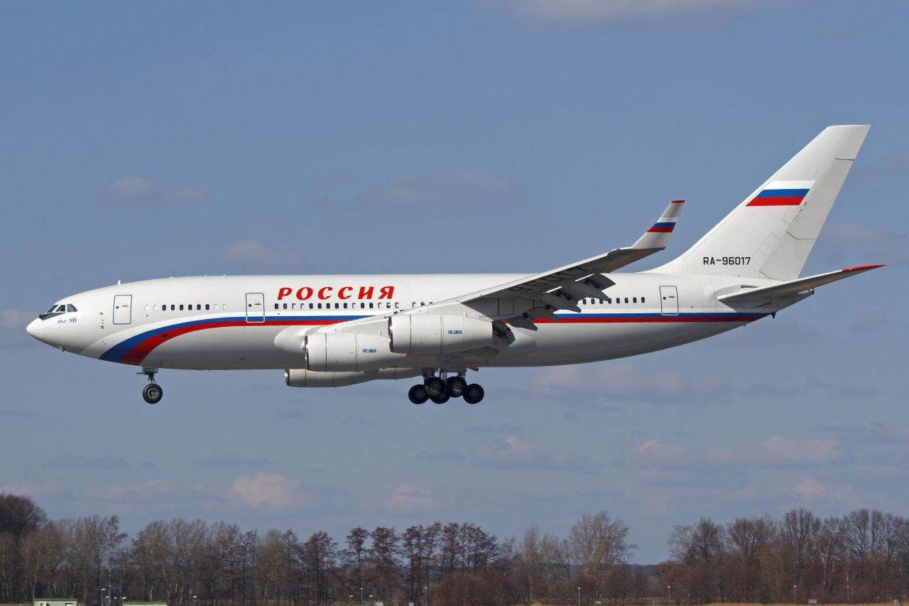 Ruský vládní Iljušin Il-96. Foto: Björn /Flickr.com