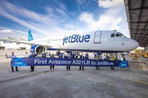 Airbus A321LR pro JetBlue. Foto: JetBlue