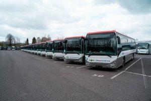 Nové autobusy Iveco pro provoz v Jihomoravském kraji. Foto: JMK