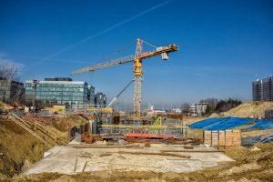 Výstavba tramvajové trati Osová - Kampus. Foto: salinounakampus.cz