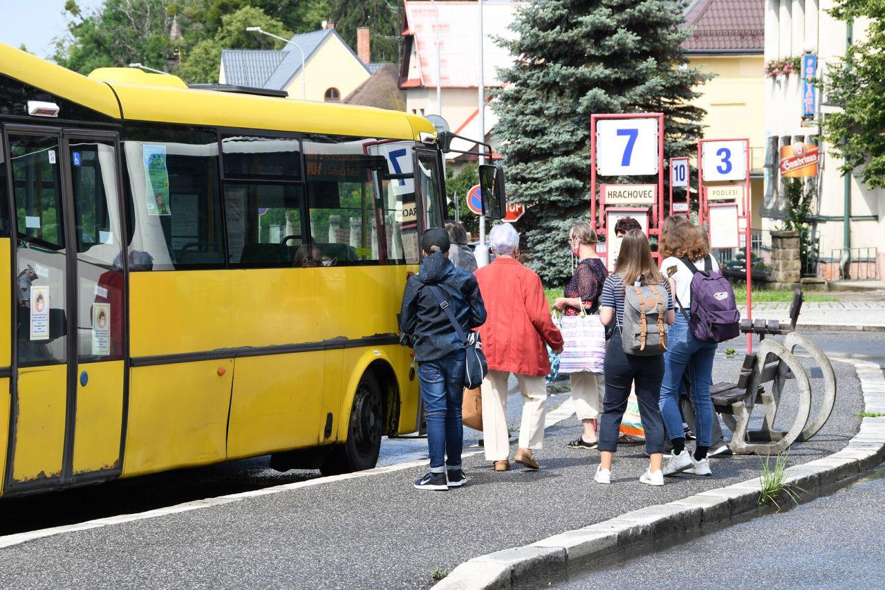 MHD ve Valašském Meziříčí. Foto: FB Valašské Meziříčí