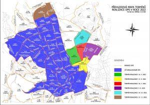 Mapa rozšiřování oblastí rezidentního parkování v Brně. Foto: Brno.cz