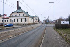 Místo opravy v Hanychovské ulici. Foto: Liberec.cz