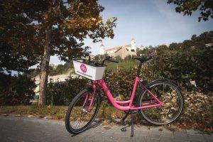 Jízdní kolo od Rekol v Bratislavě. Foto: Rekola