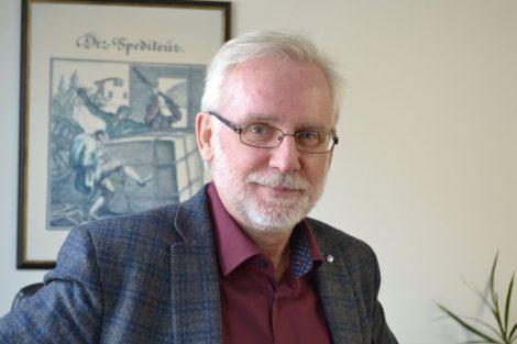 Šéf Svazu spedice a logistiky Petr Rožek. Foto: Pavla Paděrová