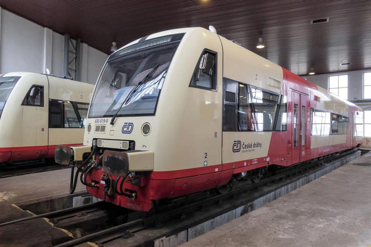 Motorový vůz Stadler RS1. Foto: České dráhy