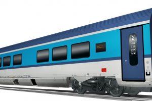 Multifunkční voz pro soupravy na 230 km /h pro České dráhy. Foto: Siemens