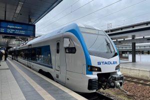 Jednotka Stadler Flirt Akku. Foto: Stadler Rail