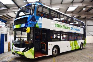 Elektrobus BYD ADL Enviro400EV. Foto: ADL