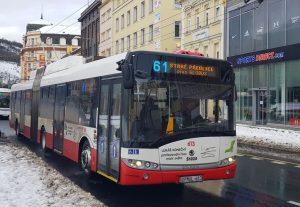Trolejbus Škoda 27 Tr v Ústí nad Labem. Foto: Jan Sůra / Zdopravy.cz