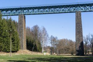 Vilémovský viadukt. Foto: Chládek a Tintěra Pardubice