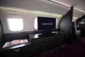 Bombardier Global 7500 v barvách VistaJet. Foto: VistaJet
