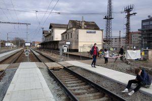 Stanice Praha - Vysočany. Foto: PID