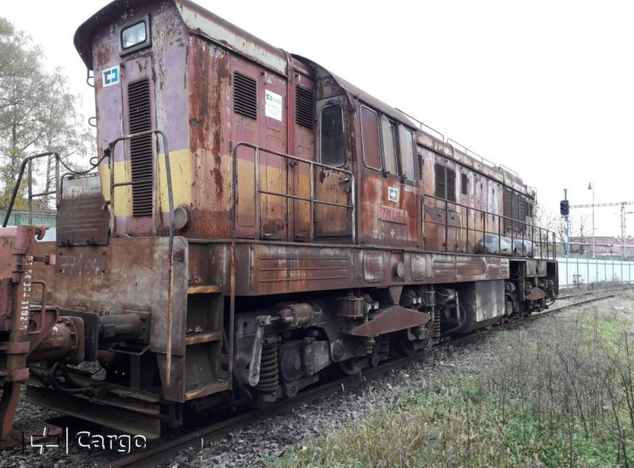 Lokomotiva řady 771 na prodej. Foto: ČD Cargo
