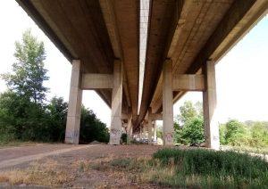 Dálnice D5, most přes Berounku. Pramen: ŘSD dokumentace EIA/EKOLA group