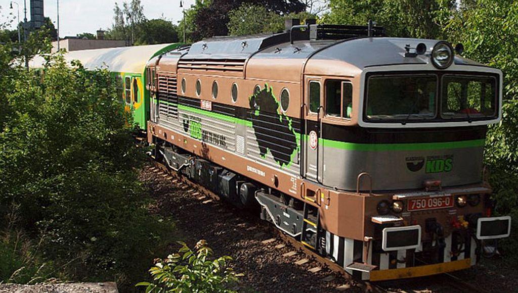Zážitkový vlak KDS. Pramen: KDS