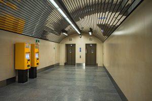 Nové výtahy ve stanici Karlovo náměstí. Pramen: ROPID