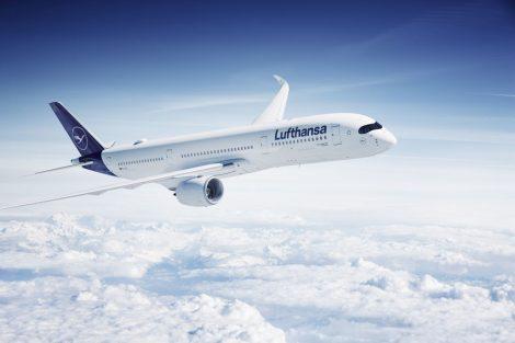 Airbus A350 v barvách Lufthansy. Foto: Lufthansa