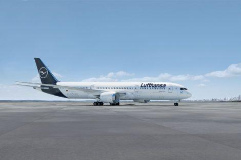 Boeing 787-9 v barvách pro Lufthansu. Foto: Lufthansa