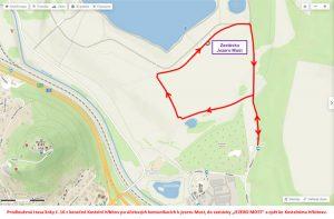 Prodloužení linky 16 k jezeru Most. Pramen: DPMML