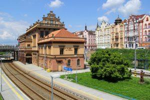 Stanice Plzeň-Jižní Předměstí. Pramen: Správa železnic