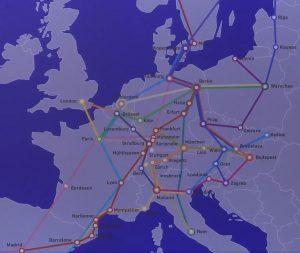Systém TEE 2.0. Pramen: Ministerstvo dopravy SRN