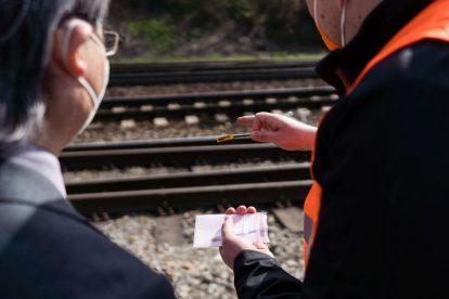 Chytré senzory pro zvýšení bezpečnosti na železnici vyvinuté na VUT Brno. Foto: Jan Prokopius