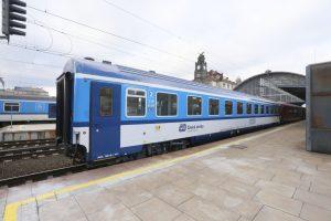 Vůz Českých drah Bmz 226. Foto: České dráhy
