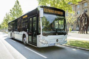 Hybridní autobus Mercedes-Benz Citaro. Foto: MB