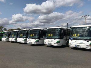 Autobusy SOR společnosti Autobusy Karlovy Vary. Foto: AKV