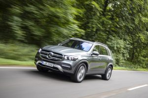 Mercedes-Benz GLE. Foto: MB