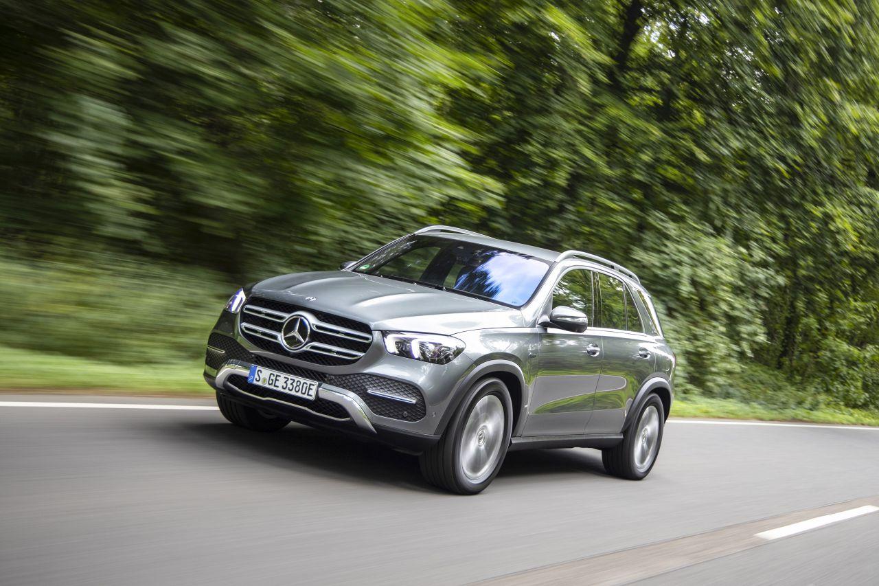 Mercedes-Benz GLE. Foto: MB