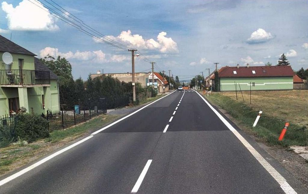 Silnice I/16. Pramen: ŘSD