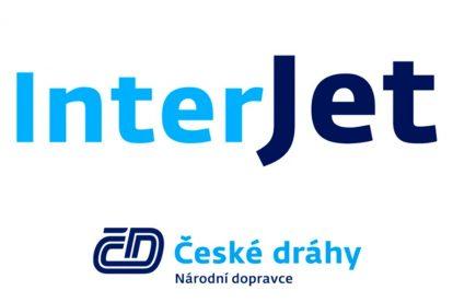 Nová značka ČD InterJet. Foto: ČD