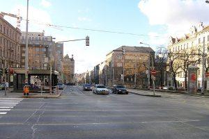 Křižovatka I. P. Pavlova. Foto: Packa / Wikimedia Commons