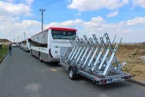 Na lince Jedovnice -  Brno budou autobusy jezdit i s cyklovlekem. Foto: BDS-BUS